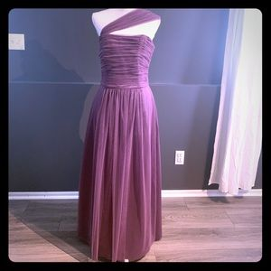 Dessy Collection full length gown.